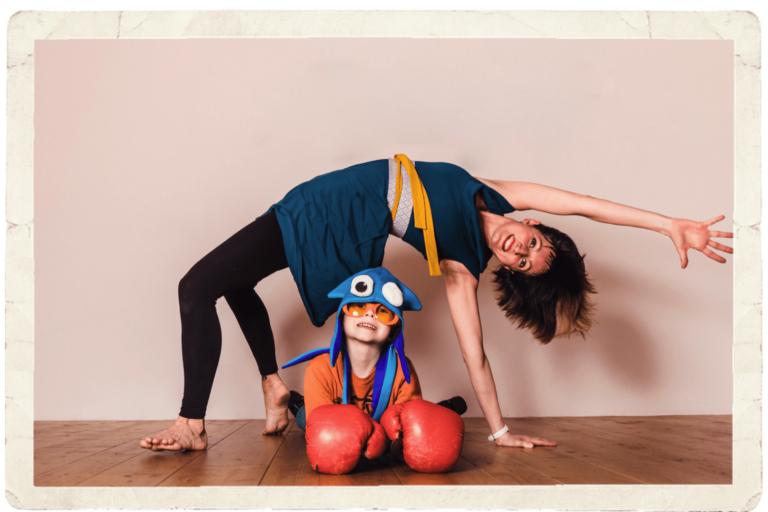 9.4.2021 – Wir machen einen Yogazirkus
