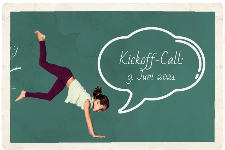 9.06.2021 – Kickoff-Call Onlineausbildung
